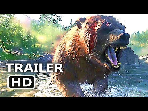 RED DEAD REDEMPTION 2 Official Trailer (2018) Rockstar Western GTA Like Game HD