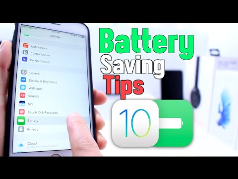 Battery Saving Tips iPhone, iPad