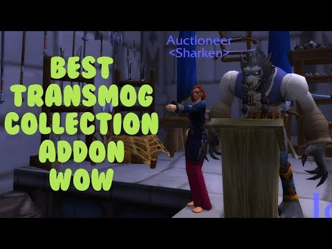 Best Transmog addon for Collectors + Sellers WoW - CollectionShop (Collectors | Sellers)