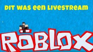 Roblox, Mad City, Blox Hunt en Meep city - Dit was een livestream