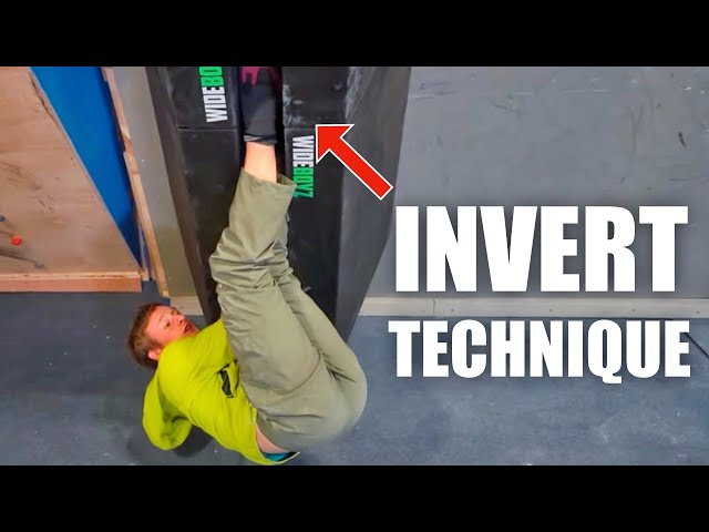 How to Climb Inverted in 15 Seconds