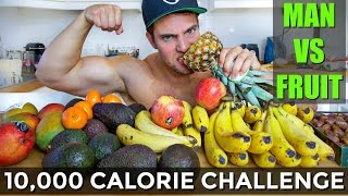 One of Jon Venus's most viewed videos: 10,000 CALORIE FRUIT CHALLENGE | DO NOT TRY THIS!! (Furious Pete, Rob Lipsett, ETE callout)