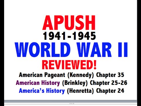 American Pageant Chapter 35 APUSH Review