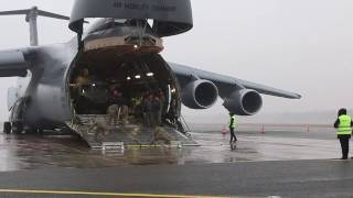 3-10 Combat Aviation Brigade at Riga International Airport, B-Roll