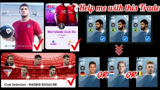 Help me with a TRADE in PES 2020 Mobile & ATM Featured Player + Worldwide Pack Opening