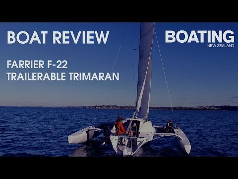 Boat Review - Farrier F22 Trailerable Trimaran - YouTube