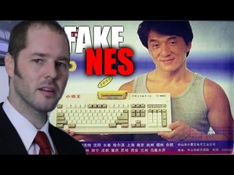 Jackie Chan's fake Nintendo