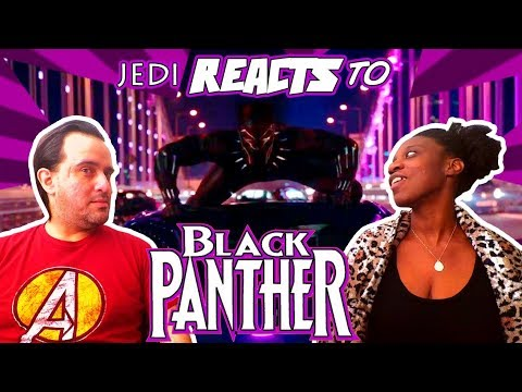 """JEDI REACTS! """"Black Panther"""" Official Trailer 🌍 (WAKANDA FOREVER!)"""