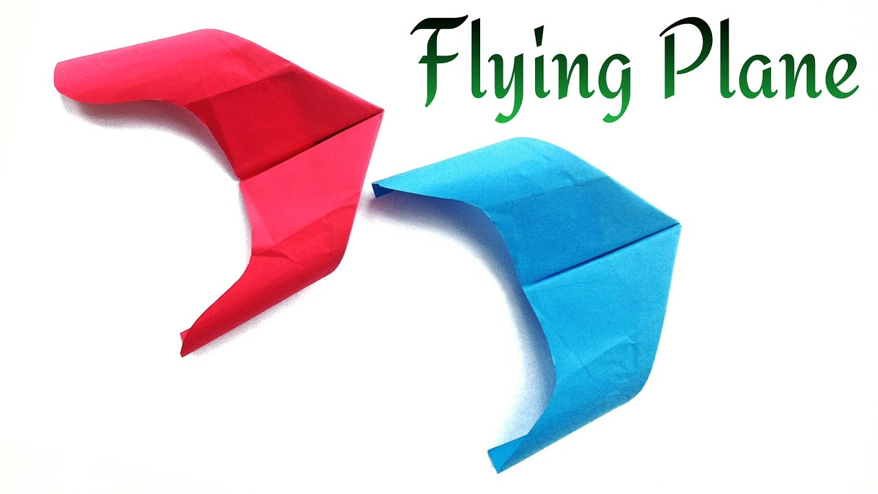 Paper Flying Rocket Plane Comet Flies Fast And Accurate A Long Distance Too