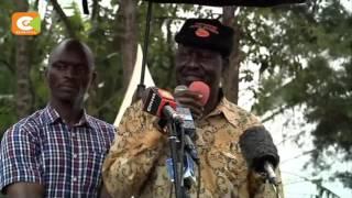 Kiongozi wa ODM aendeleza ziara yake, Malava