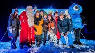 Alipay Blue Magic in Santa Claus Village, Rovaniemi, Lapland