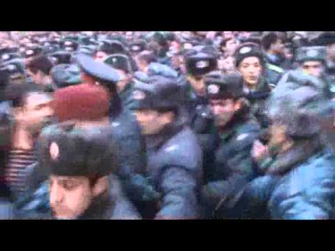 Armenian Opposition March 1 Procession