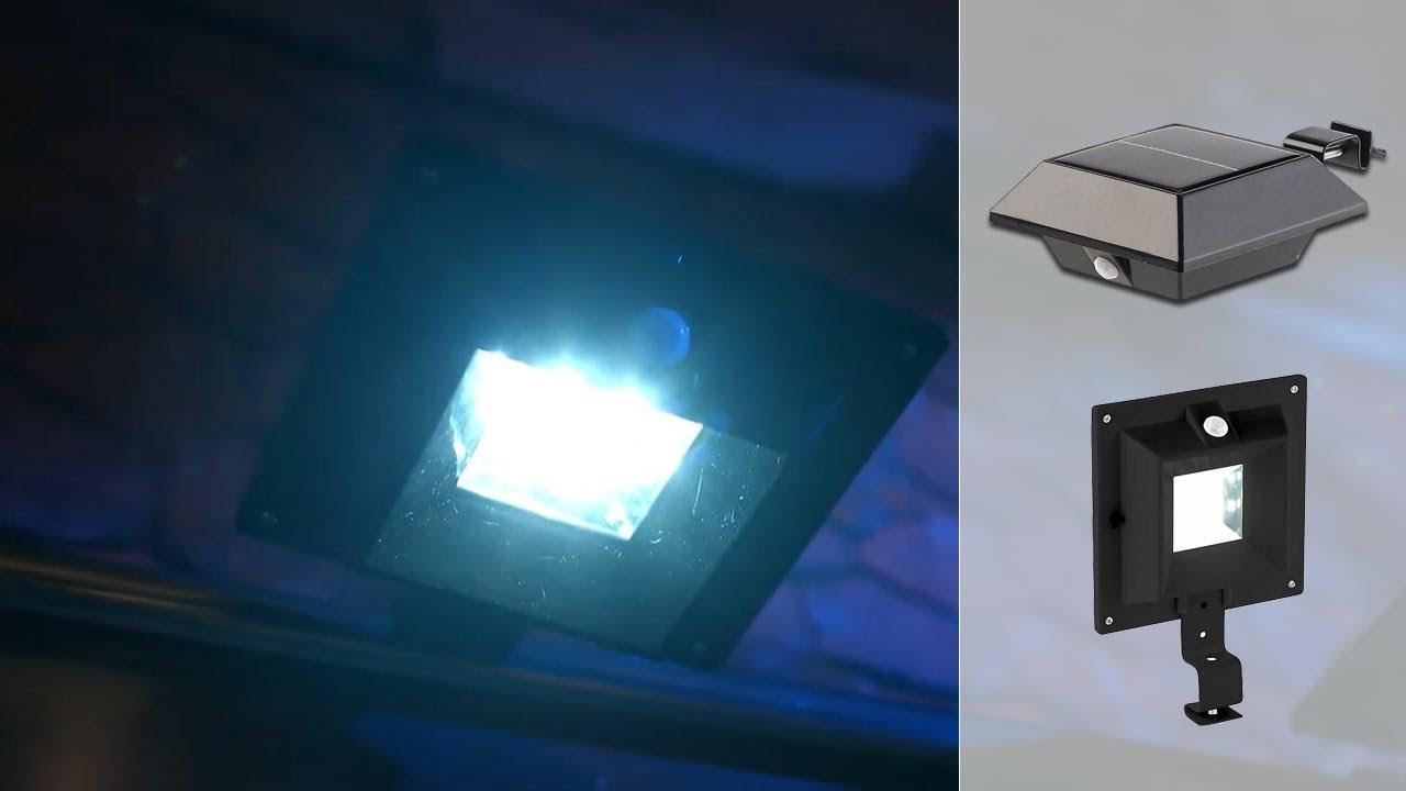 Lampes Nx5564 Solaire 3 Pir Noir Led Detecteur QrCxdsht