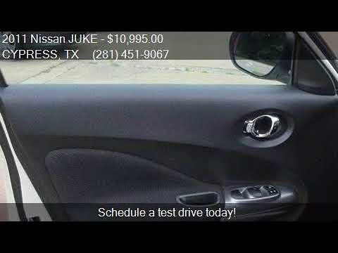2011 Nissan Juke S Awd 4dr Crossover For Sale In Cypress, Tx