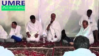 Hac 2014 - Arafat Vakfesi - Muhammed Yusuf Yaşar Hoca, Hacı Arıcı Hoca #1
