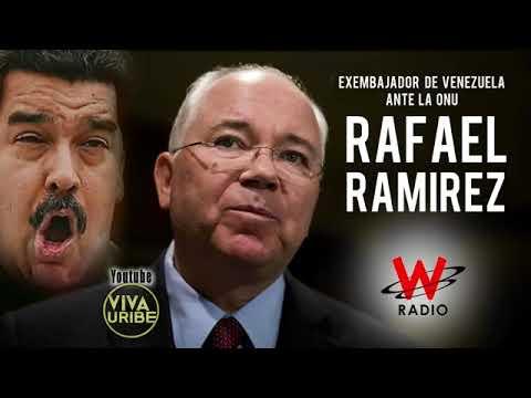 Fuertes declaraciones contra MADURO del exembajador de Venezuela Rafael Ramírez  LaW