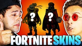 Invent new FORTNITE SKINS! (for CrispyRob & Dima)