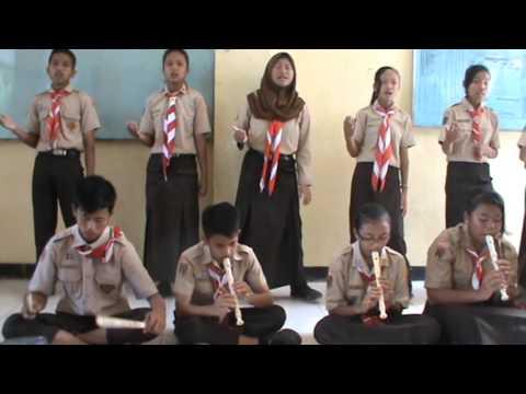 Lagu kokoronotomo kelas 9B SMPN 1 Giritontro