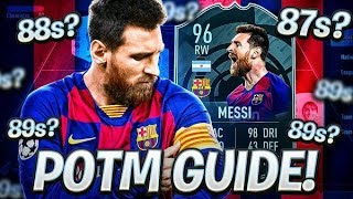 96 MESSI PLAYER OF THE MONTH SBC GUIDE! HOW WILL EA DO THE SBC?! FIFA 20 Ultimate Team