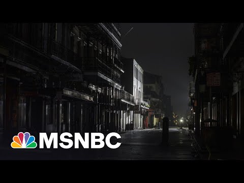 New Orleans Will Be In The Dark For Days After Hurricane Ida