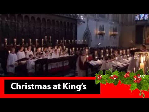 King's College Cambridge 2008  #5 Angels From The Realms of Glory arr. Philip Ledger