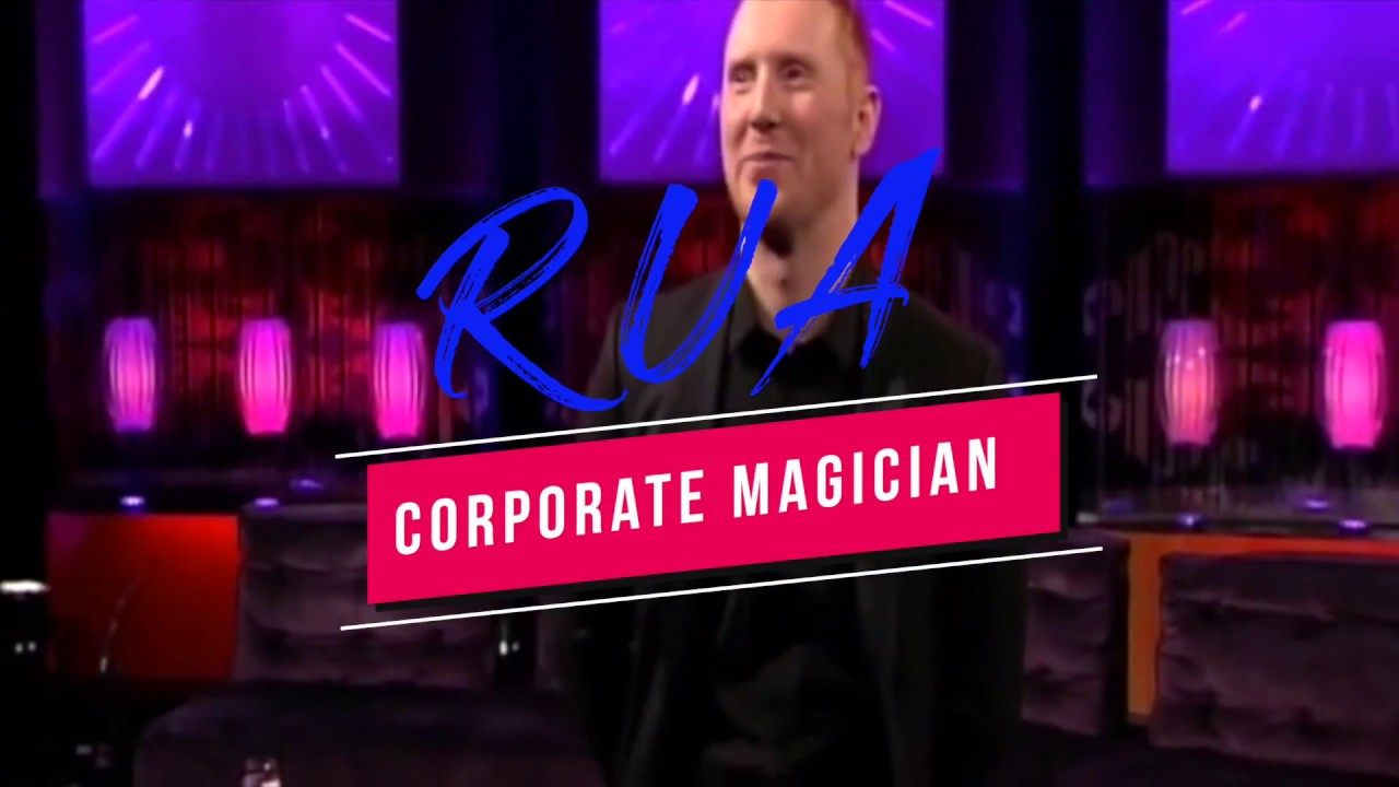 Corporate Magician Ireland