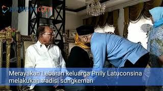 Suasana Hangat Lebaran Keluarga Prilly Latuconsina