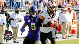 Oklahoma State Cowboys Vs. TCU Horned Frogs | 2020 College Football Highlights