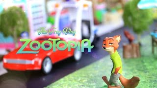 Video The Frog Vlog: How to Make: a ZOOTOPIA Town - - DIY - Handmade - Crafts download MP3, 3GP, MP4, WEBM, AVI, FLV Agustus 2018