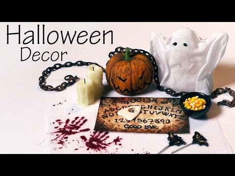 Quick/Easy; Miniature Halloween Decorations & Sweets