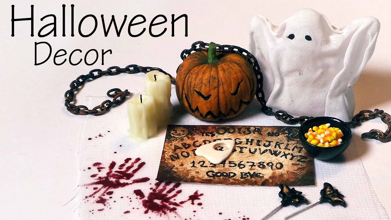 quickeasy miniature halloween decorations sweets youtube