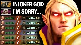 This Is How Vurtune Invoker DEAL With Trash Talk Player - EPIC REFRESHER COMBO | Dota 2 Invoker
