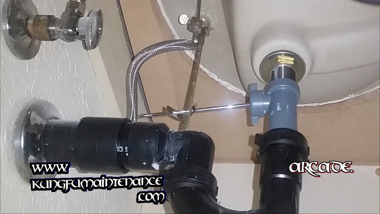 How To Disconnect Kitchen Faucet Easy Fix For Stubborn Leaking Vanity Sink Pop Up Rod Nut