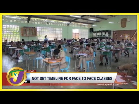 No Set Timeline for Face-to-Face Classes in Jamaica | TVJ News - Sept. 1 2021