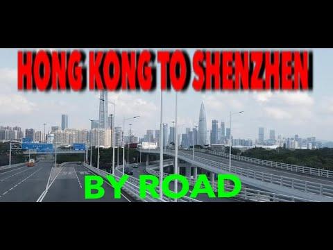 Hong Kong to Shenzhen Bay Border by Road
