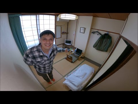 Japanese Micro Room Tour | Fuji City Ryokan