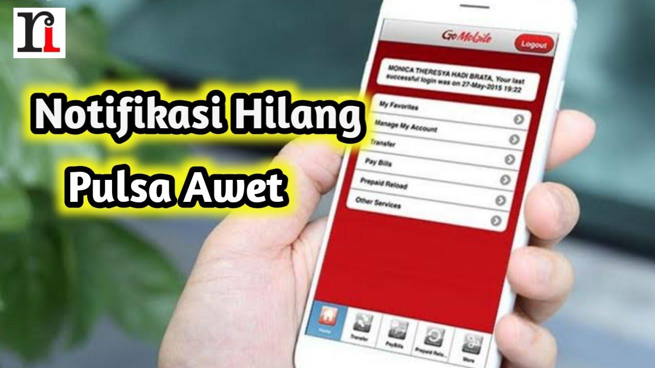 Cara Agar Tidak Kena Sms Notifikasi Di Go Mobile Cimb Niaga Makan Pulsa Youtube