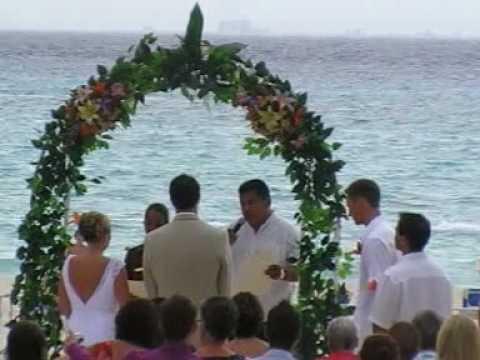 Riu Palace Riviera Maya  Hochzeit am Strand Playa del Carmen, Yucatan Cancun Film Video www.Fella.de