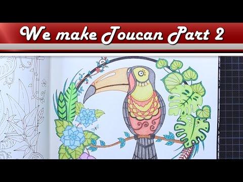 Colouring Toucan Part2