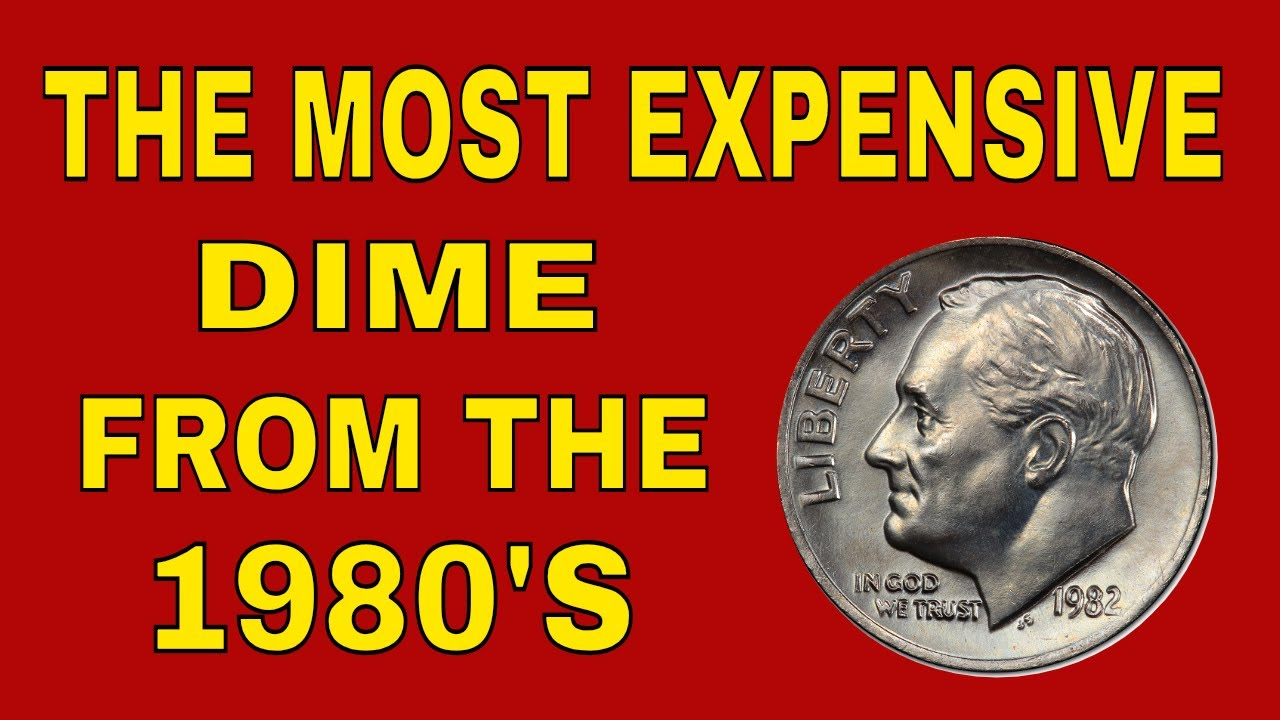 The most valuable dime from the 1980's in circulation! Rare dimes worth  money - coins to look for!