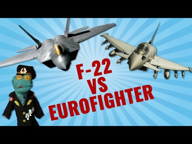 F-22 vs Eurofighter: In what ways does Typhoon beat Raptor