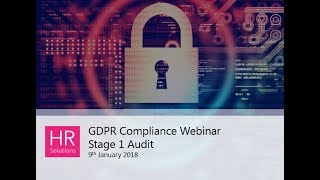 Watch hr solutions webinar recording to find out key points consider in relation data auditing and cleansing gdpr compliance.