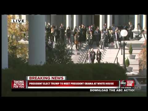 LIVESTREAM: President-Elect Donald Trump set to meet President Obama at White House