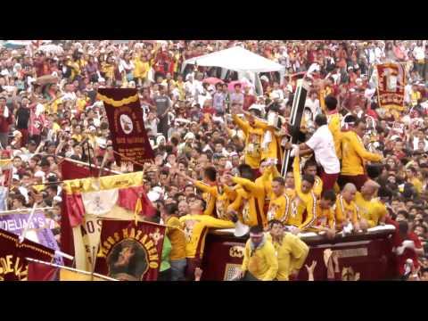 Nazareno 2015: Black Nazarene leaves Quirino Grandstand