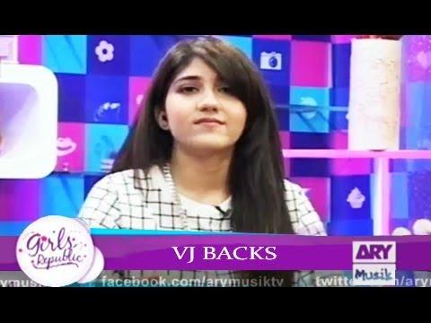 Girls Republic | VJ Backs  | Guest - Anju Tarot Card Reader | ARY Musik