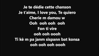 T vice - Ma chérie je t'aime karaoke