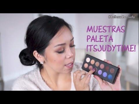 Muestras de la Paleta de Sombras Itsjudytime - BellezaConJudy thumbnail