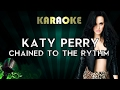 Katy Perry Chained To The Ryhtm LOWER Key Karaoke Instrumental Ft Skip Marley mp3