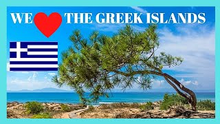 GREECE, EXPLORING ISLAND of NAXOS, the BEST BEACH to visit