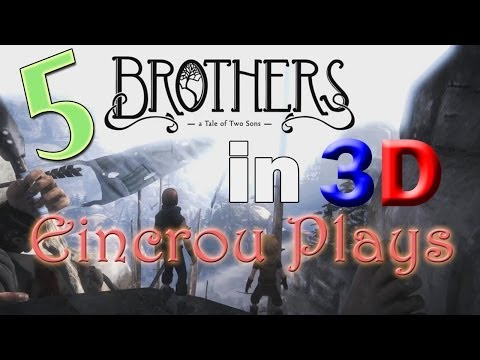 [Brothers - A Tale of Two Sons] Let's Play Pt.5 - (3D Video)